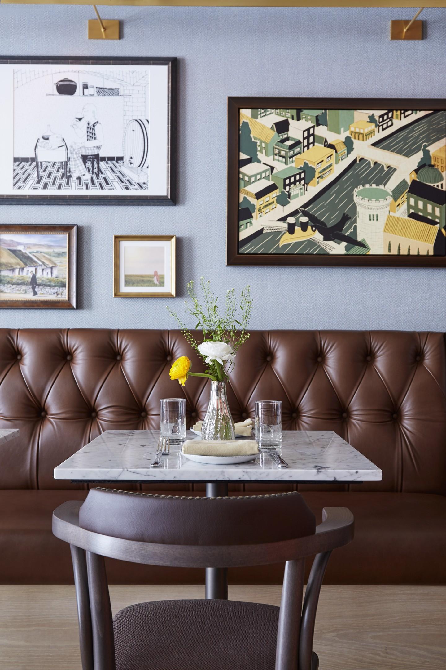 Hotel em Nova York encanta com decoração vintage (Foto: David Engelhardt/Divulgação)