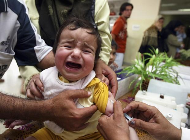 Considere: a voz das crianças deve ser ouvida e levada a sério. (Foto: Akram Saleh/Getty Images)