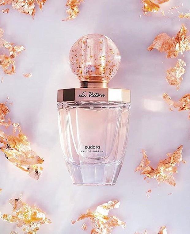 Nova fragrância da Eudora, La Victorie  (R$ 169) -  íris branca com fundo adocicado de baunilha e praliné (Foto: Divulgação)