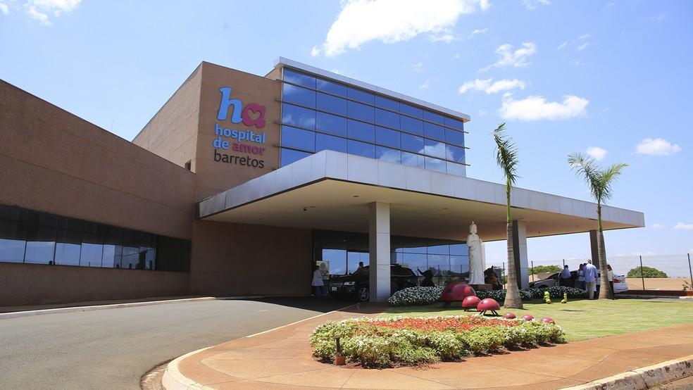 Hospital de Amor de Barretos (SP) — Foto: Crédito: Divulgação Hospital de Amor