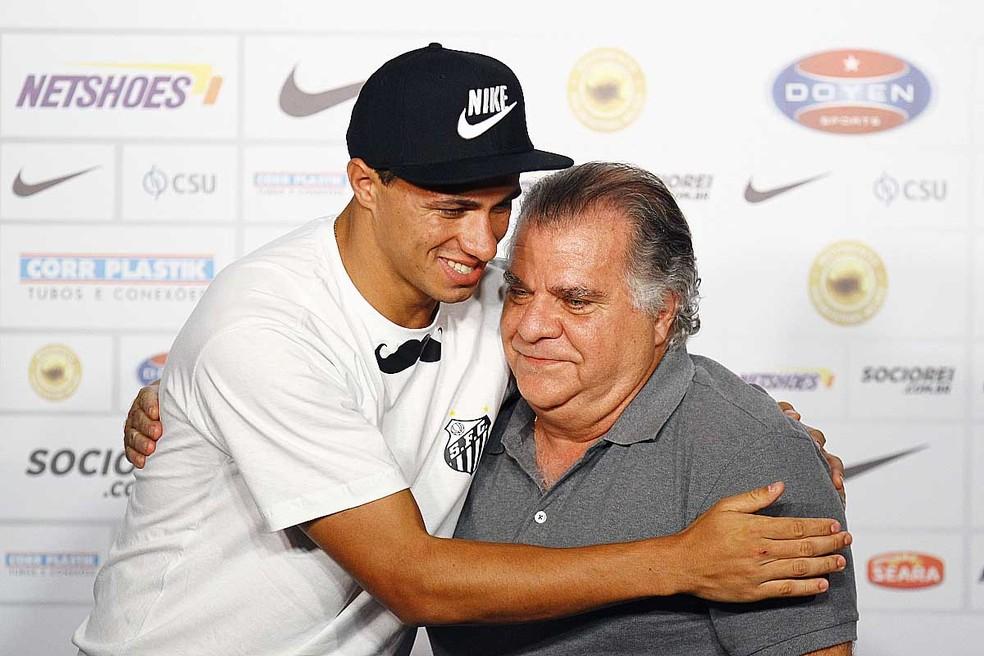 — Foto: Ricardo Saibun / Santos FC