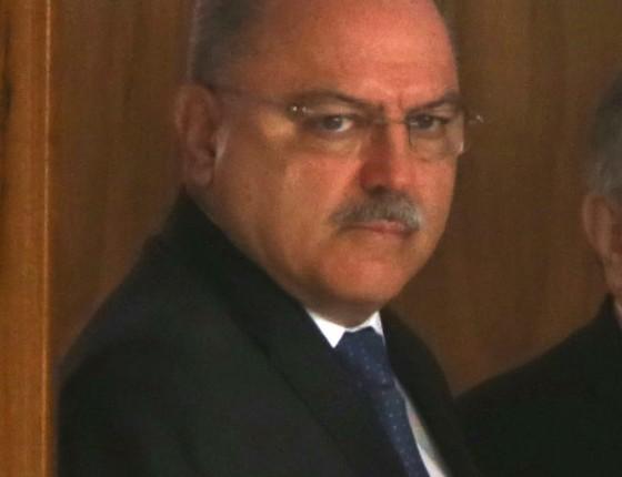O ministro do Gabinete de Segurança Institucional da Presidência, general Sérgio Etchegoyen, em solenidade no Palácio do Planalto (Foto: GIVALDO BARBOSAAGËNCIA GLOBO)