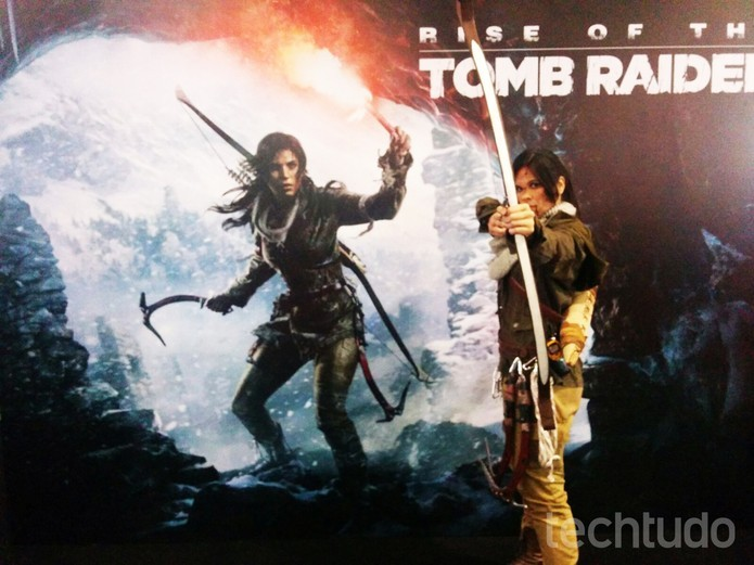 Rise of The Tomb Raider vai chegar ao PlayStation 4 (Foto: Elusa Costa/TechTudo)