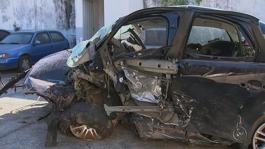 'Estamos em choque', diz parente sobre acidente que matou cinco pessoas e arremessou motor de carro
