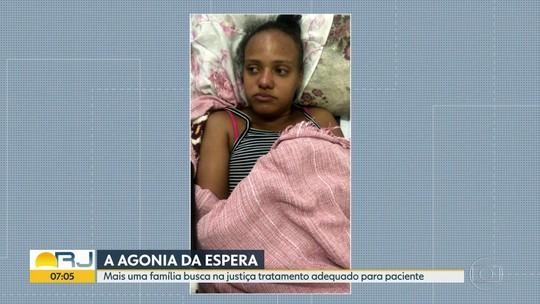 Vítima de três AVCs após parto, paciente espera por vaga de UTI há quase um mês no RJ