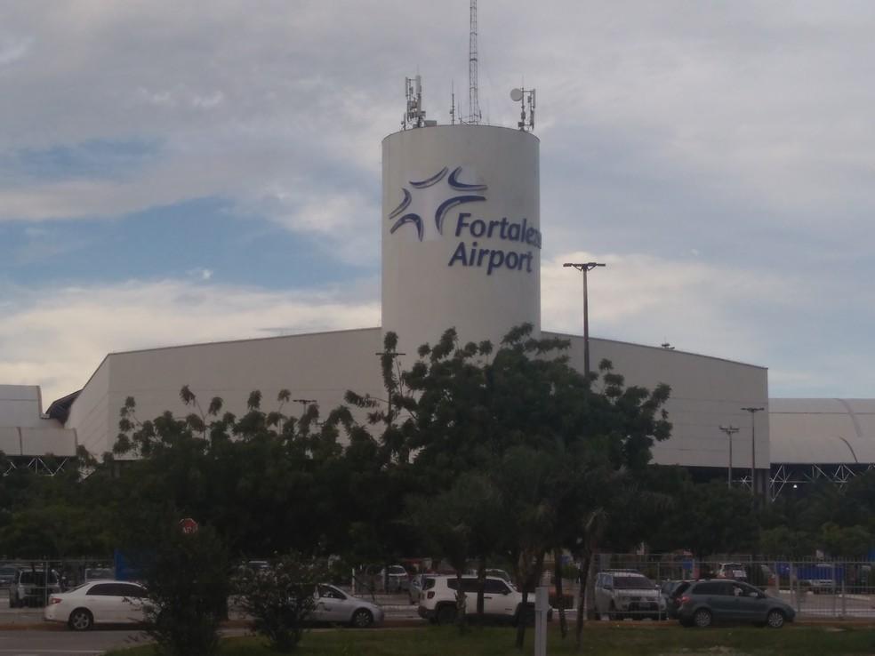 -  Aeroporto Internacional Pinto Martins, em Fortaleza  Foto: G1 Ceará