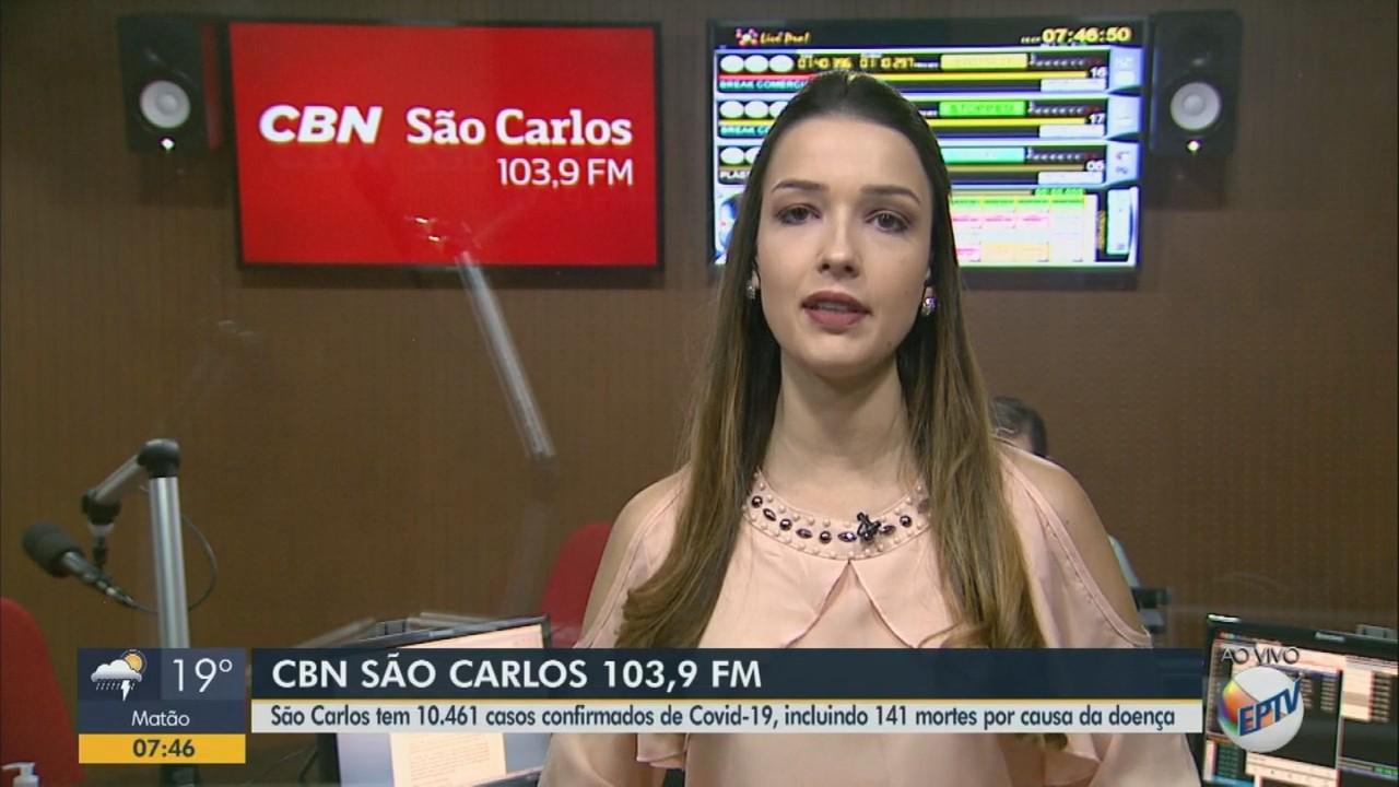 São Carlos soma 10.461 casos de Covid com 141 mortes