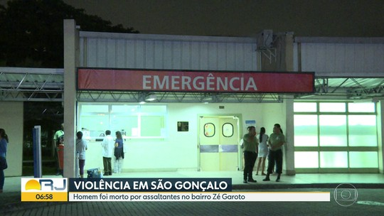 Um homem morreu e outro ficou ferido em tentativas de assalto no RJ