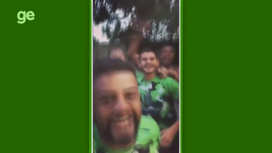 """Jogadores do Manaus provocam Naça após TJD manter título: """"E ninguém cala esse chororô""""; vídeo"""
