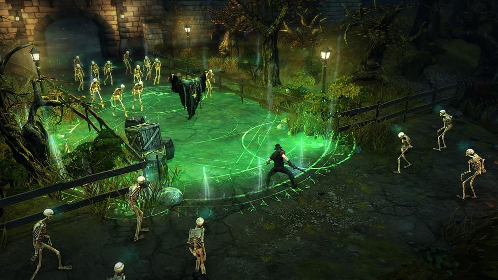 Ao estilo Diablo, Victor Vran é RPG de ação que será oferecido em outubro na Xbox Live Gold — Foto: Divulgação/Haemimont Games