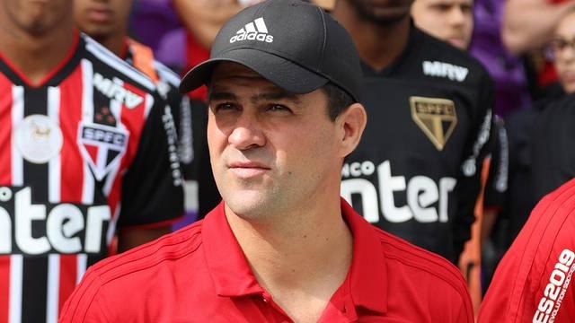 André Jardine na partida contra o Ajax