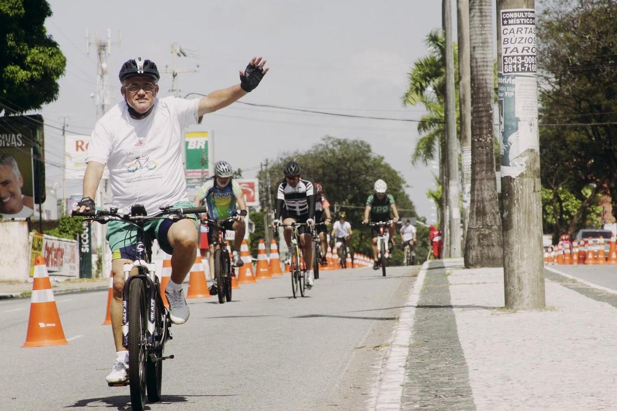 Ciclofaixa da Av. Epitácio Pessoa é suspensa neste domingo (12) de Enem