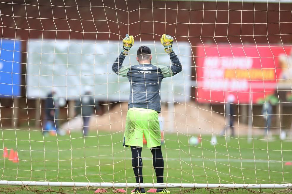 Jandrei atuou em todas as partidas do Brasileirão 2017 e 2018 — Foto: Sirli Freitas/Chapecoense