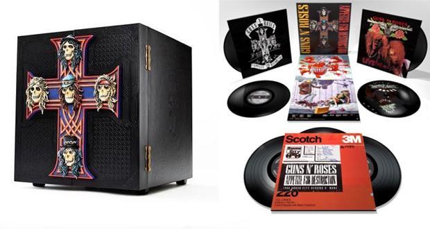 Guns N Roses lança versão de luxo do primeiro álbum com itens de colecionador (Foto: Divulgação/Reprodução)