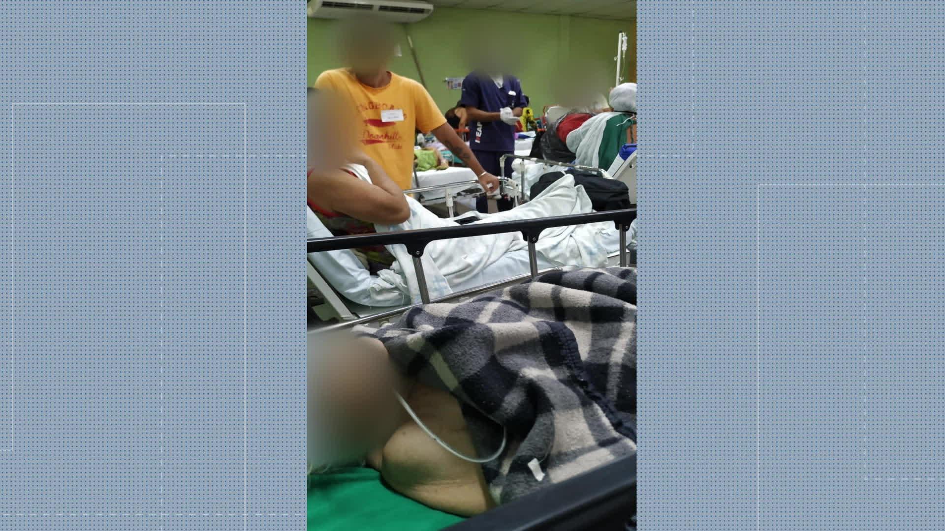 Parente de paciente do Hospital de Saracuruna relata 'cenário humilhante e desesperador'