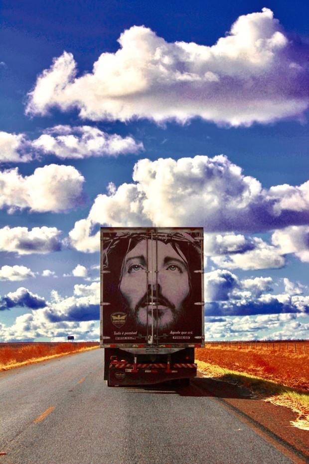 Imagem de _no caminho, esposição de Christian Bittencourt  (Foto: Christian Bittencourt)