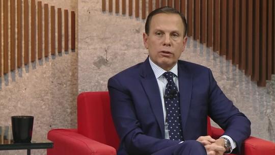 Doria diz que reforma da Previdência pode ajudar a destravar a economia
