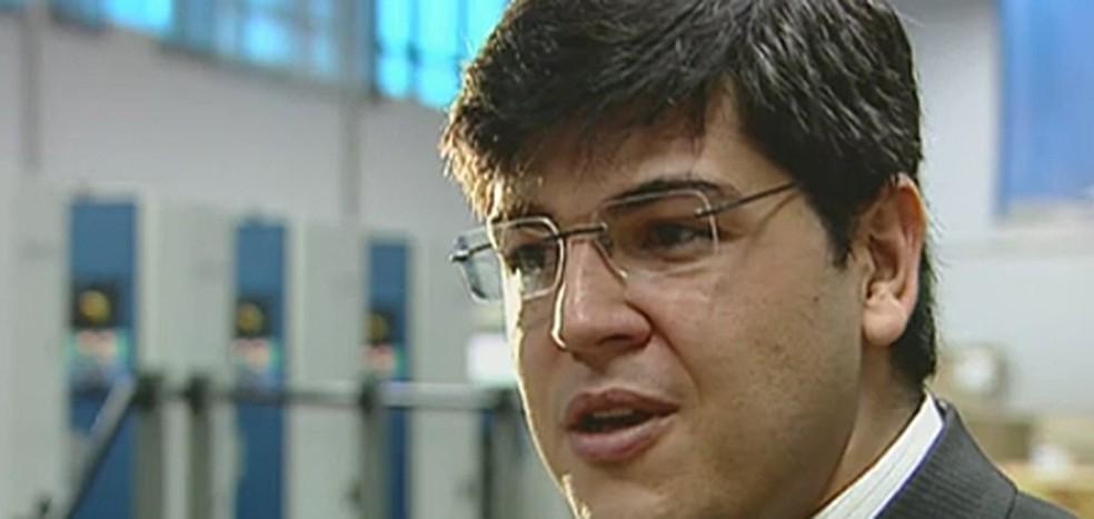 Benedito Oliveira Neto, o Bené, empresário que delatou caixa 2 na campanha de Pimentel — Foto: Reprodução/TV Globo