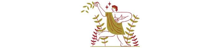 3. Estoicistas  (Século 3 a.C.) (Foto: Ilustração: Yorka)