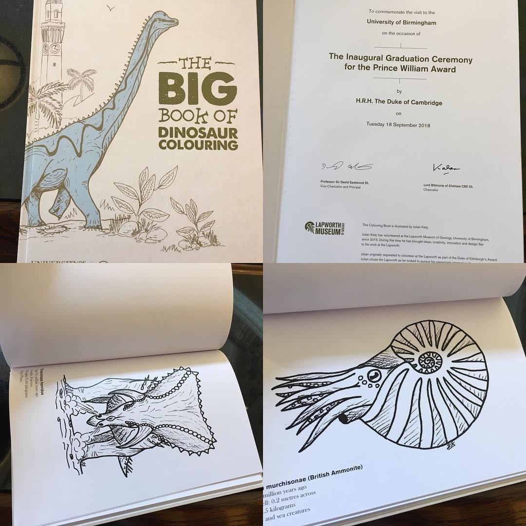 Os livros de colorir de George, Charlotte e Louis (Foto: Reprodução / Instagram)