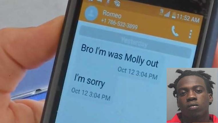 Após roubo, ladrão manda mensagem de desculpa a vítima nos EUA (Foto: Lake County Sheriff's Office)