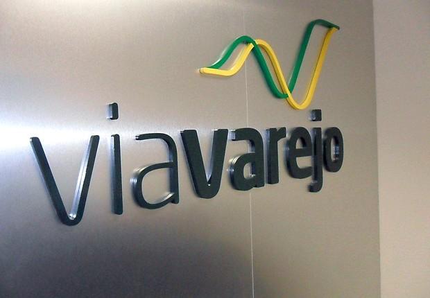 Logo da Via Varejo , maior rede de varejo de eletrodomésticos e móveis (Foto: Divulgação)