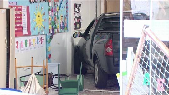 Motorista invade creche e fere seis crianças em Chapecó