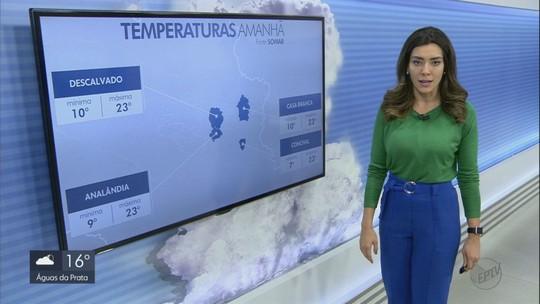 Confira a previsão do tempo para a sexta-feira na região