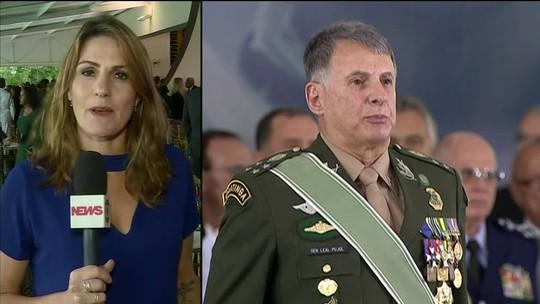Bolsonaro participa em Brasília de cerimônia da troca de comando do Exército
