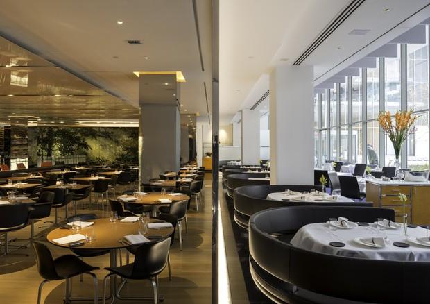 Restaurante The Modern, que faz parte do programa Keys To Kitchen do hotel Peninsula, em NY (Foto: Divulgação)