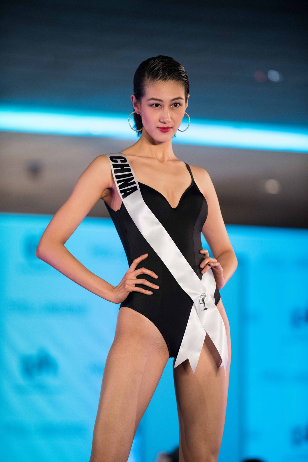 Roxette Qiu, Miss China (Foto: Matt Petit/Miss Universe Organization/AFP)