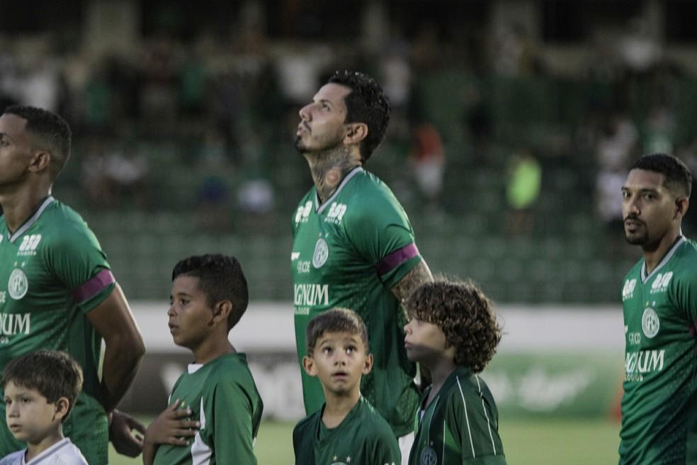 80259d8aa2dbd ... Victor Ramos estreou pelo Guarani no domingo passado — Foto  Letícia  Martins   Guarani FC
