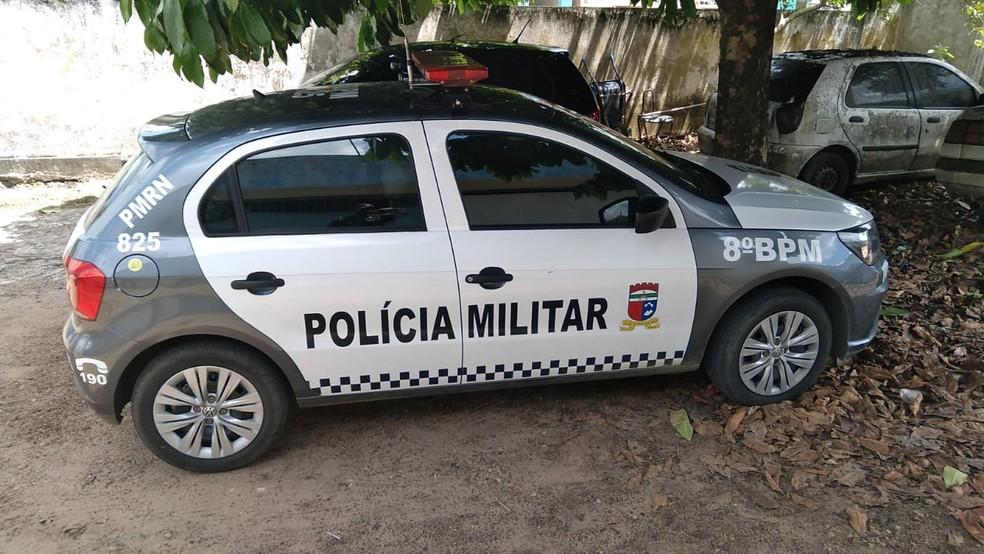 Equipe do 8º Batalhão da PM prendeu suspeitos de estupro no interior do RN — Foto: PM/Divulgação