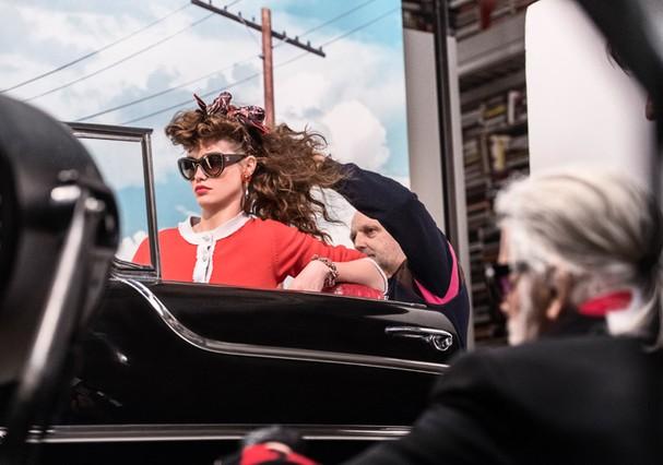 Campanha de Fall-Winter 2018/19 da Chanel (Foto: Karl Lagerfeld)