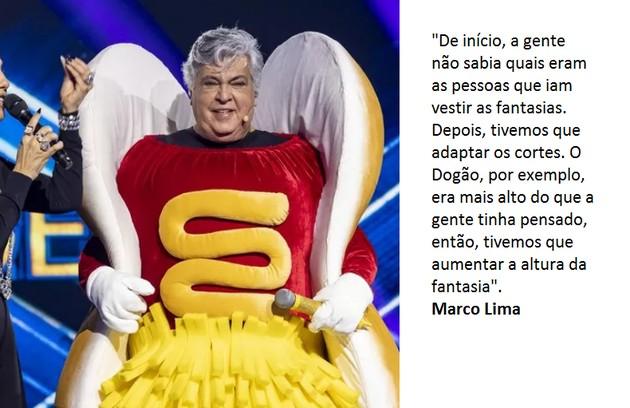 Sidney Magal foi o Dogão, eliminado na primeira semana (Foto: Globo)