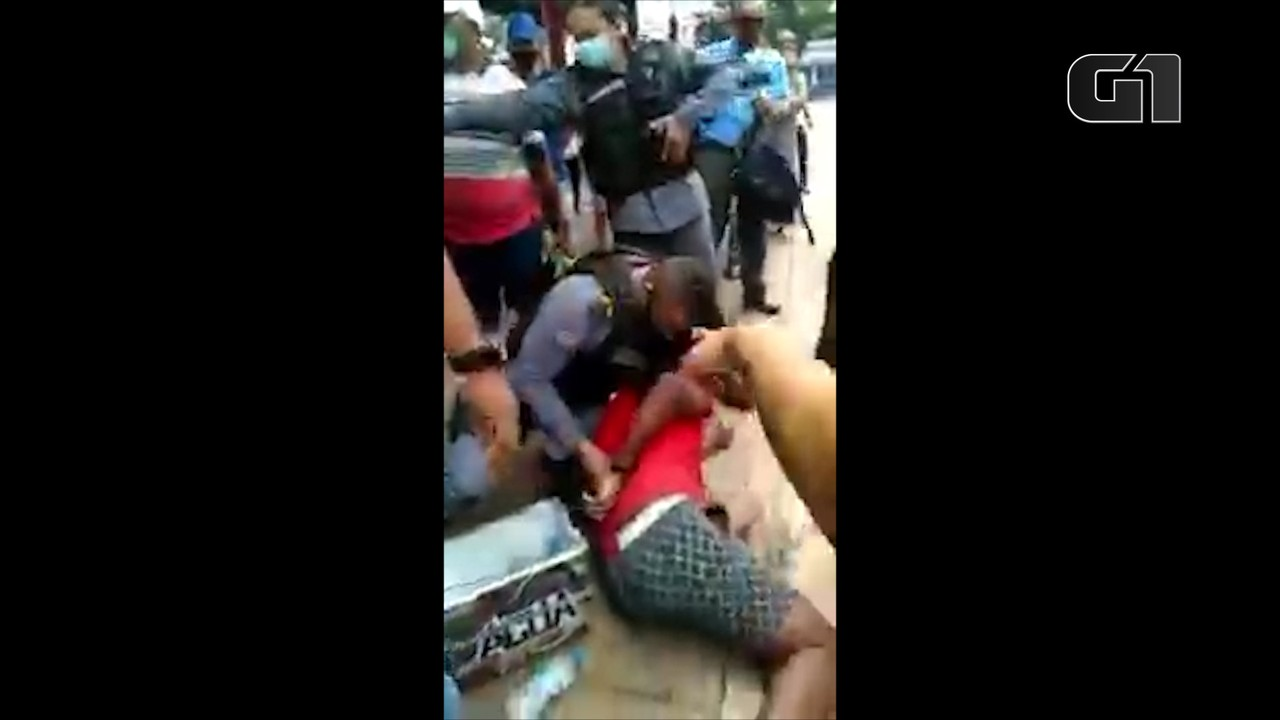 Vendedor ambulante é preso por desacato a PMs em São Luís, diz polícia