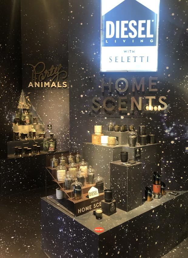 Lançamento da marca italiana Seletti na feira Maison&Objet, em Paris (Foto: Thaís Lauton/ Editora Globo)