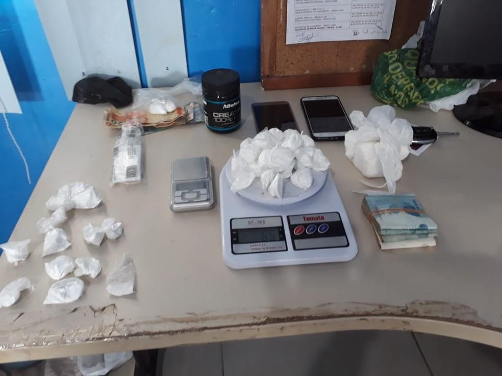 Drogas foram apreendidas durante Operação Anjos sem Lei em Rondônia. — Foto: Divulgação/Polícia Civil