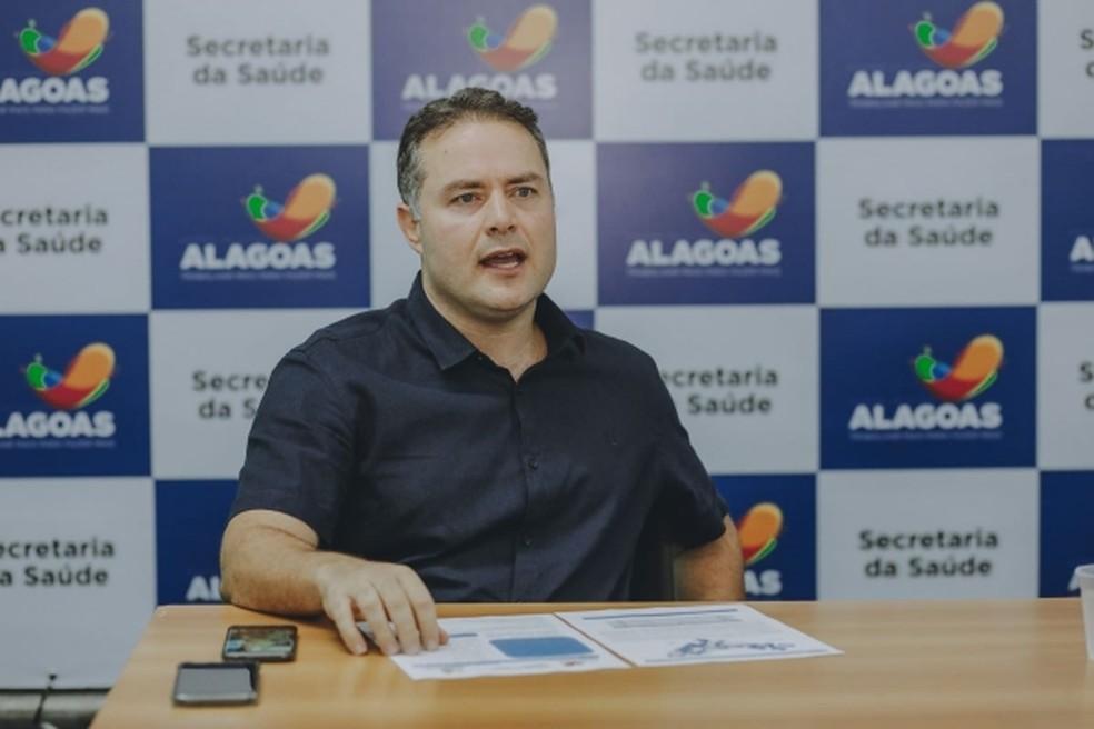 Governador de Alagoas, Renan Filho, anunciou no Twitter que prorrogou decreto de emergência para conter o coronavírus — Foto: Márcio Ferreira/ Arquivo Pessoal
