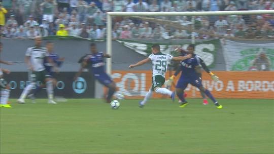 Paraná 1 x 1 Palmeiras: veja os melhores momentos