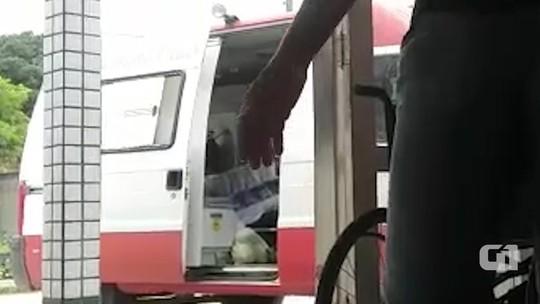 Ambulância de cidade no sul da Bahia é flagrada por moradores transportando verduras