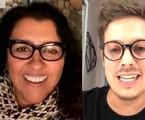 Regina Casé e Fabio Porchat via Instagram | Reprodução