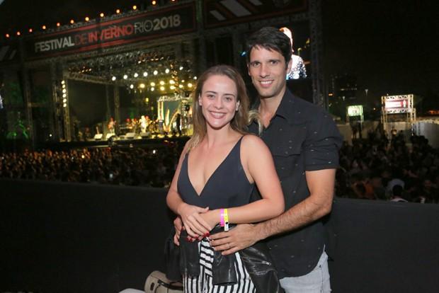 Juliana Silveira e o marido, João Vergara (Foto: Reginaldo Teixeira/CS eventos divulgação)