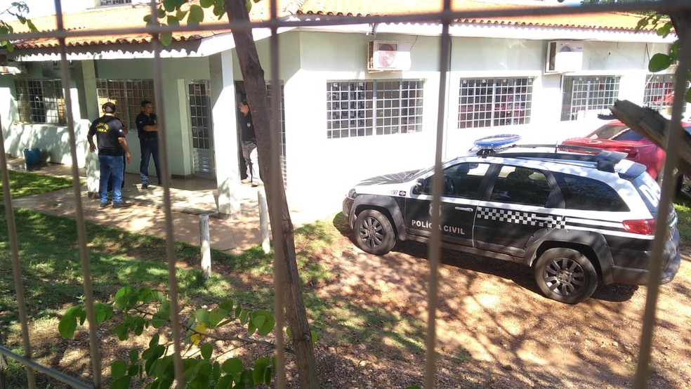 Operação Terra à vista investiga fraude ambiental em Mato Grosso — Foto: Leandro Trindade/TV Centro América