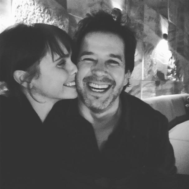 Débora Falabella e Murilo Benício (Foto: reprodução/Instagram)