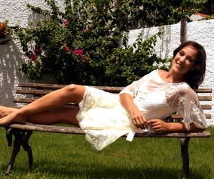 Adriana Birolli na sua casa, no Itanhangá | Cristina Granato