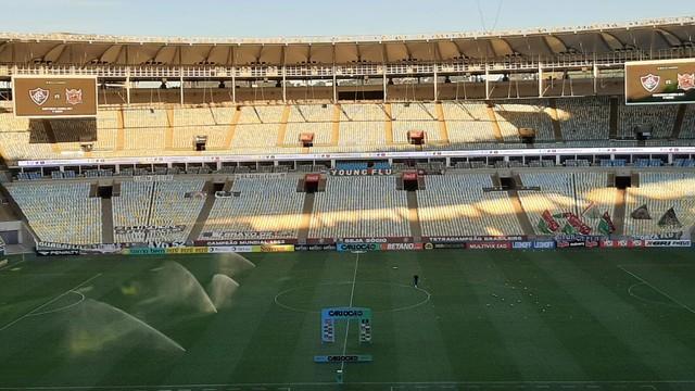 Fluminense x Nova Iguaçu - Maracanã