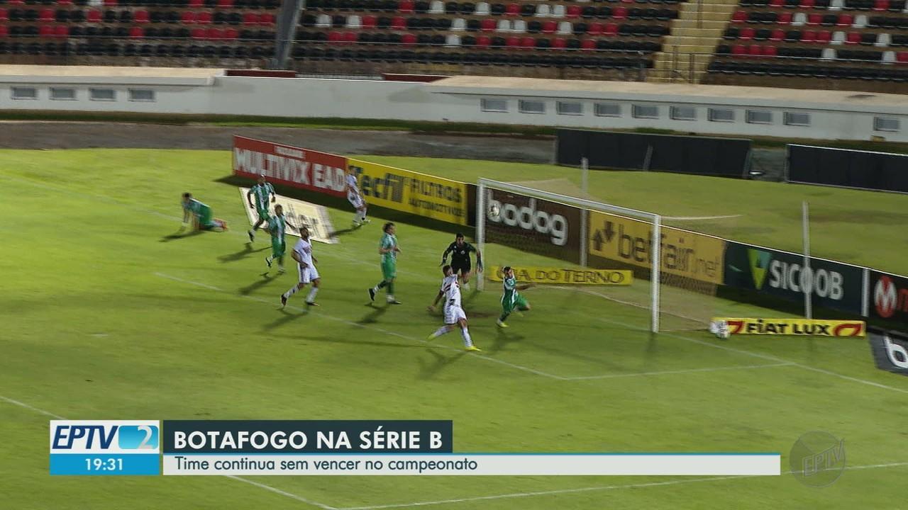 Botafogo-SP empata em casa contra o Juventude pela Série B