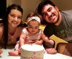 Patricia Cardoso e Marcelo Adnet são pais de Alice, de 10 meses | Reprodução