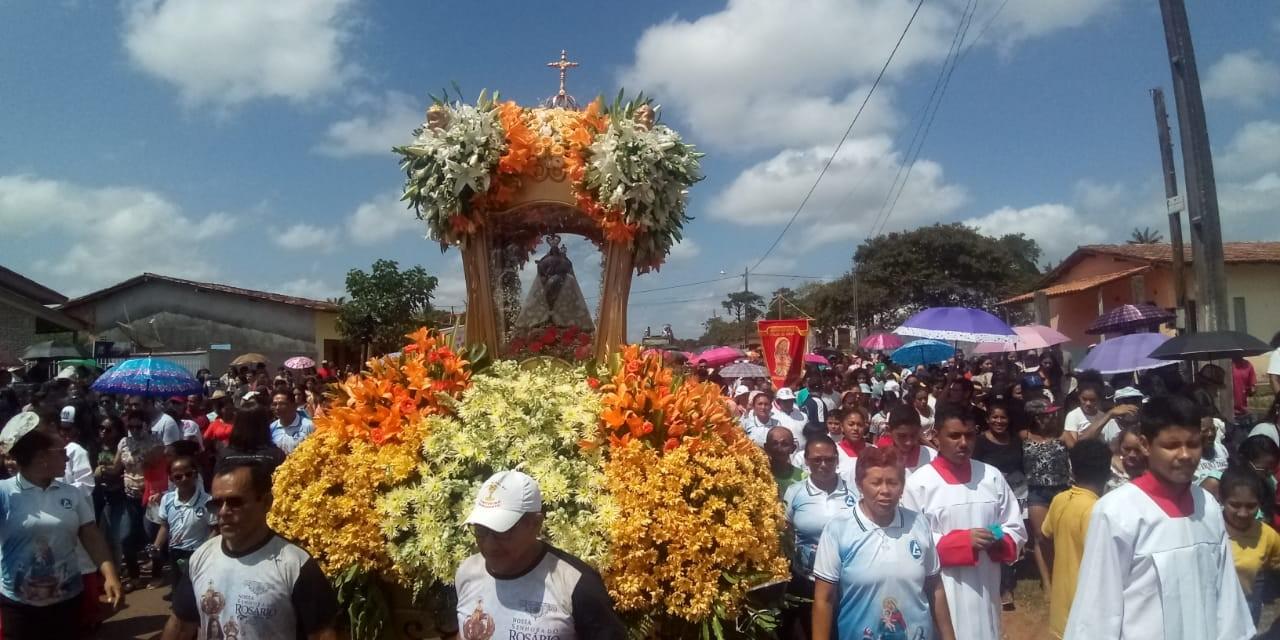 Círio de Nossa Senhora do Rosário leva multidão às ruas de Curuçá, no PA - Notícias - Plantão Diário